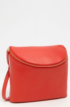 Halogen® 'Mia' Leather Crossbody Bucket Bag available at #Nordstrom