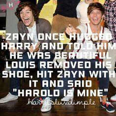 bahahaha!!!! sassy Louis!