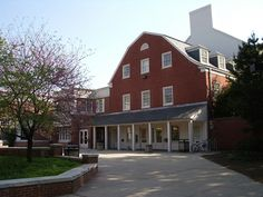 """Douglass Student Center...on the Douglass College Campus. This is where you picked up your mail. It was called """"The Student Center"""". It had a snack bar, where we all ate,avoiding the meals served at Cooper Hall,the dining hall of Douglass College., it was the Woman's College, of Rutgers University."""