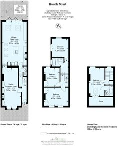 Floorplan with side return kitchen