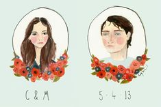 Illustrated Invites by Katy Smail