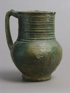 The Met - Jug - 13th–14th century - French - Accession Number: 52.21.3