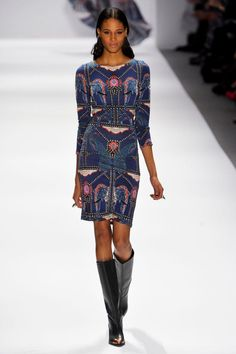 Mara Hoffman Fall 2013 - ornate as hell, but I can't help it