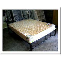 ที่นอน ยางพาราผสมพีอี + เตียงเหล็ก 6 ฟุต เตียงนอนทำจากเหล็กอย่างดี แข็งแรง รับน้ำหนักได้มาก ที่นอนพร้อมเตียงเหล็ก ชุดนี้ เหมาะอย่างยิ่งสำหรับ อพาร์ทเม้นท์ ที่พัก หอพัก สนใจ ติดต่อด่วนที่ โทรศัพท์ : 029700524 โทรศัพท์มือถือ : 081 934 7533 แนะนำ โรงงานที่นอน