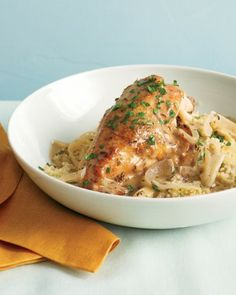 See the Slow-Cooker Garlic Chicken with Couscous in our  gallery