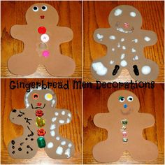 Gingerbread Men Decorations