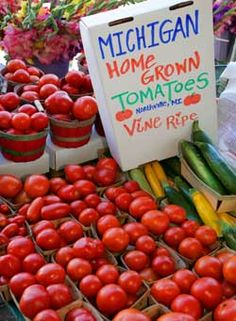 The Ann Arbor Farmer's Market in Kerrytown is open year round - and visitor's often love going as much as locals. Always plan a 'grab-n-go' breakfast! http://visitannarbor.org