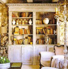 BOISERIE & C.: Contenuto e contenitore ovvero libri e librerie