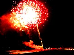 Fireworks over Hampton.
