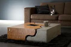cement coffee table - Google Search