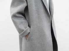 grey coat / @bellafosterblog