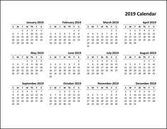 calender 2019 pdf