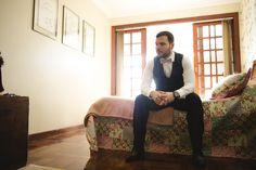 Bethânia e Tovão - Raoní Aguiar Fotografia - Fotografia de casamento - Wedding photography - Casamento de dia - Daytime wedding - Amor - Love - Noivo - Groom - Brasil - Brazil - Making of