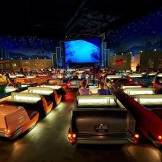 Sci-Fi Dine-In Theater Restaurant at Disney World