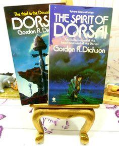 Gordon R Dickson Vintage Sci Fi Paperback Books by KittysTales