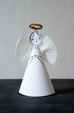 Mer Mag: Easy Paper Angel Craft