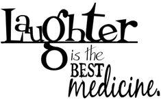 laugh more, you'll live longer :)