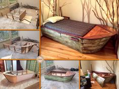 26 Best Boats And Seacraft Images Boat Viking Ship Boat Bed