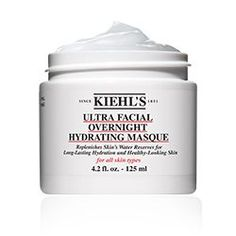 Kiehl's x Ultra Facial Overnight Hydrating Masque Pore Cleansing Mask, Gel Face Mask, Avocado Face Mask, Anti Aging Mask, Bright Skin, Dull Skin, Kiehls, Skin Firming, Best Face Products
