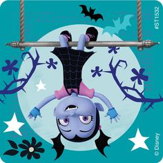 Meet the newest neighbor from Transylvania - Vee! Young kids will love the stickers in this assortment featuring characters from the hit Disney Junior show Vampirina. SmileMakers is the place to shop for the prizes you know they'll stickers per u
