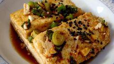 #vegan caramelized Korean-style tofu