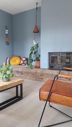 Living Room Inspiration, Home Decor Inspiration, Living Room Decor Fireplace, Scandinavian Home, Contemporary Interior, Home And Living, Sweet Home, House Design, Interior Design