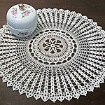 A Touch of the Irish Doily - free archived thread crochet pattern by Jacqui Cunningham. Free Crochet Doily Patterns, Crochet Motifs, Thread Crochet, Filet Crochet, Irish Crochet, Free Pattern, Crochet Home, Crochet Crafts, Easy Crochet