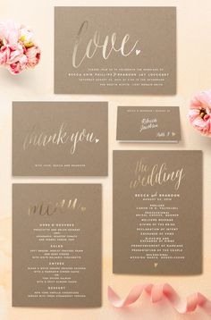 Invites - navy, green + silver?