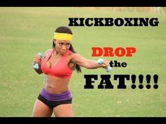 Kickboxing with Keaira LaShae (DROP THE FAT!!) - YouTube