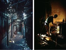 Before it was torn down in 1993, Kowloon Walled City was the most densely-populated region in the world.