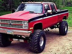 Chevy truck 87 Chevy Truck, Lifted Chevy Trucks, Classic Chevy Trucks, Gm Trucks, Chevy Pickups, Chevrolet Trucks, Diesel Trucks, Cool Trucks, Pickup Trucks