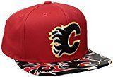 Calgary Flames Flat Brim Hat