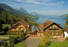 VCH-Hotel Meielisalp, Leissigen bei Interlaken, Thunersee, Berner Oberland, Schweiz / Switzerland. www.vch.ch/meielisalp/