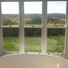 Bath with a view @thecoastbyron