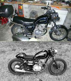 Suzuki GN 125. Antes y Despues.