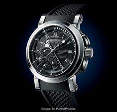 """Breguet - Breguet Marine Chronographe """"200 Ans De Marine"""" 5823"""