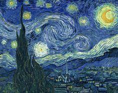 La nuit étoilée - V.Van gogh , surrement ma peinture favorite ...