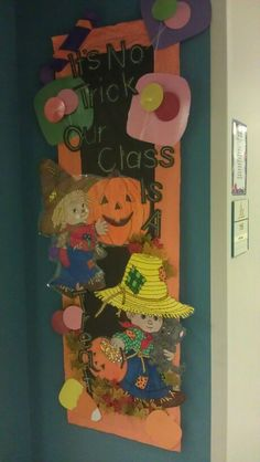 October bulletin board