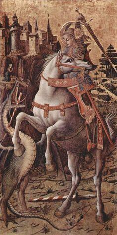 Carlo Crivelli, St. George, 1470