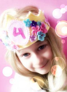 Minadori Art Filc Felt Feltro: Kwiatowa korona/ Flower crown