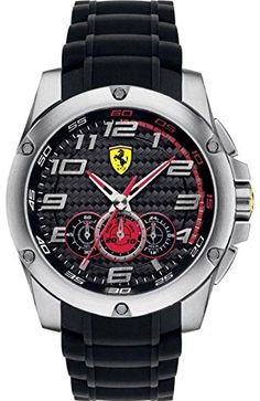 Men's Wrist Watches - Ferrari Scuderia SF104 Paddock Mens Watch  Black ** Read more reviews of the product by visiting the link on the image.