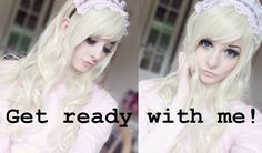 Dolly Makeup+Outfit ♡