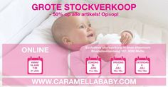 Grote stockverkoop Caramella Baby -- Melle -- 25/06-08/07