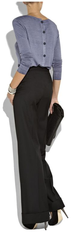 Back Button, Classy Pants...yes Please! - Click for More...