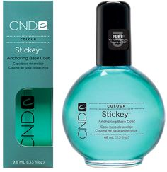 Run out and buy this right now. Im serious. Ive never found a base coat that keeps my polish ON until now. No chips after 4 days and counting. It's fabulous.