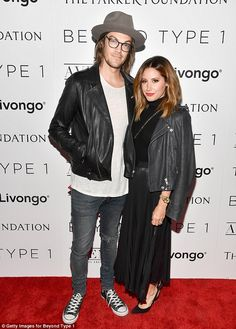 Support: Ashley Tisdale attended the Beyond LA Cocktail Party hosted by her husband Christopher French in Hollywood on Friday