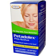 Enzymatic Therapy, Petadolex, ProActive, 60 Softgels