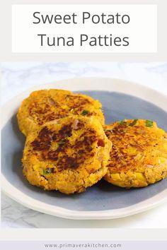 Sweet Potato Recipes Healthy, Healthy Tuna, Tuna Recipes, Healthy Cooking, Baby Food Recipes, Seafood Recipes, Healthy Recipes, Fish Recipes Gluten Free, Dinner Recipes