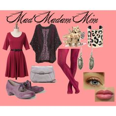 """""""Mad Madam Mim for the Y Shape"""" by stevie-sm-williams on Polyvore"""