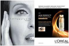 L'Oréal Paris Skincare Advertising with Julianne Moore